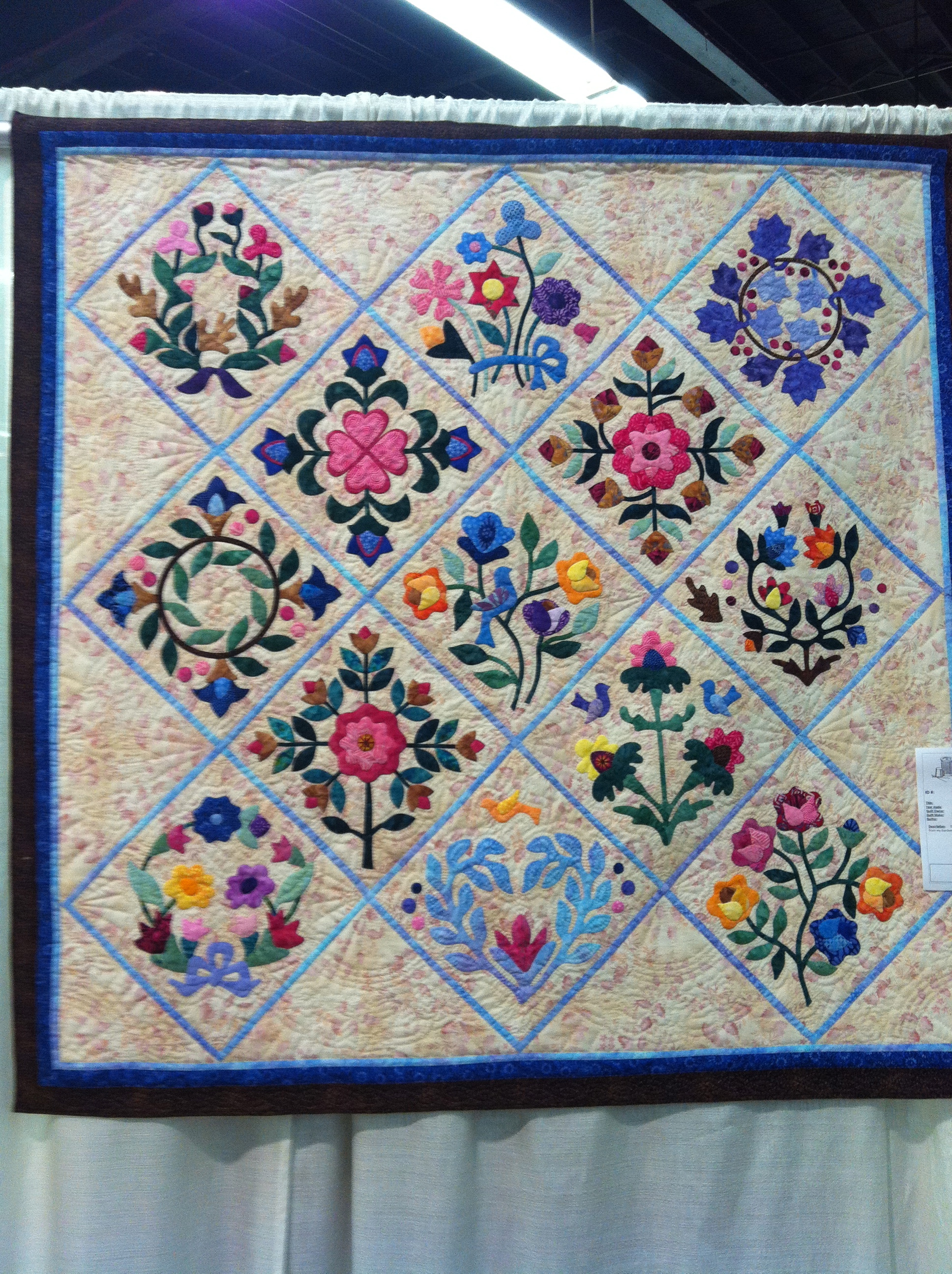 Portland Northwest Quilters Quilt Show What Fabric
